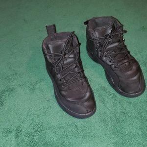 Boy or Girl Jordan 12 Retro Winter Black